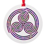 Triple Spiral - 11 Ornament