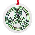 Triple Spiral - 10 Ornament