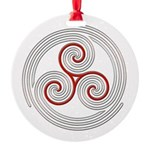 Triple Spiral - 8 Ornament
