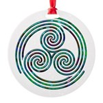 Triple Spiral - 7 Ornament