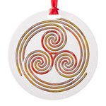 Triple Spiral - 6 Ornament