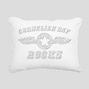 CARNELIAN BAY ROCKS Rectangular Canvas Pillow
