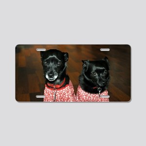 Toby and Tessa Aluminum License Plate