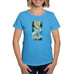 Artful Crop Circle Designer Women's T-Shirt