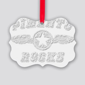 PIMENTO ROCKS Picture Ornament