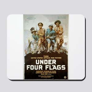 Under Four Flags - anonymous - 1918 - Poster Mouse