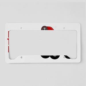 Mr Fire Truck Mug License Plate Holder