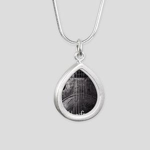 are YOU a bluesfreak? Silver Teardrop Necklace