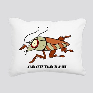 Cartoon Cockroach by Lor Rectangular Canvas Pillow