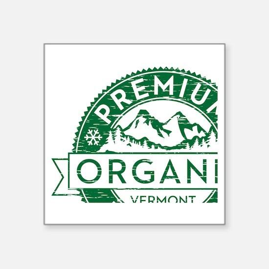 "Vermont Powder Square Sticker 3"" x 3"""