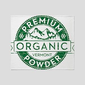 Vermont Powder Throw Blanket