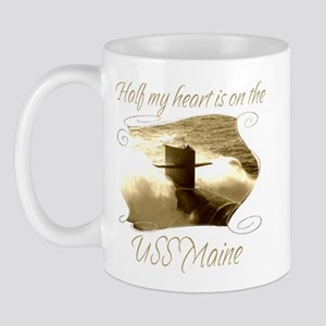 USS Maine Mugs
