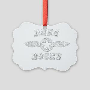 RHEA ROCKS Picture Ornament
