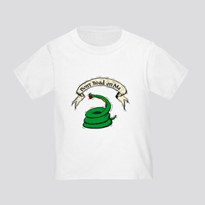 Don't Tread on Me Snake Toddler T-Shirt
