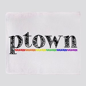 Ptown Throw Blanket