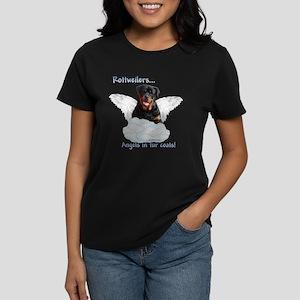 Rottie Angel Women's Dark T-Shirt