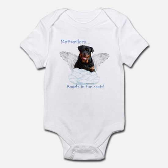 Rottie Angel Infant Bodysuit