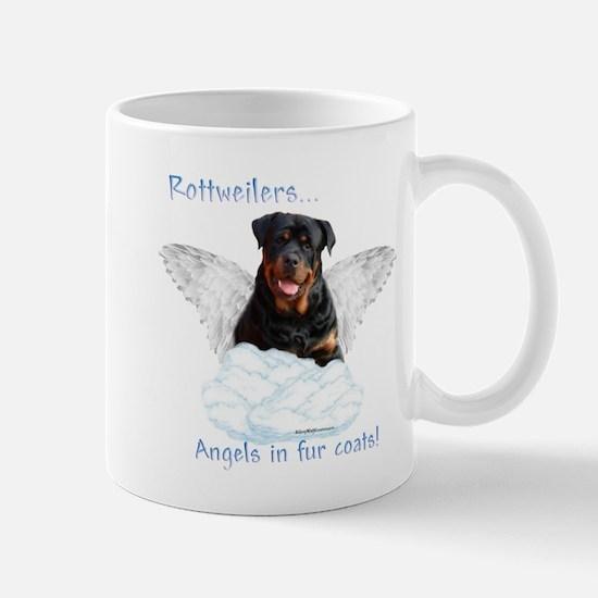 Rottie Angel Mug