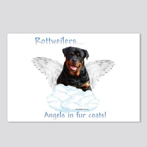Rottie Angel Postcards (Package of 8)