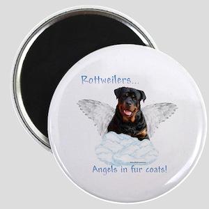 Rottie Angel Magnet