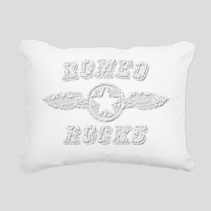 ROMEO ROCKS Rectangular Canvas Pillow