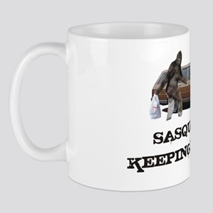 Sasquatch Keeping It Real Mug