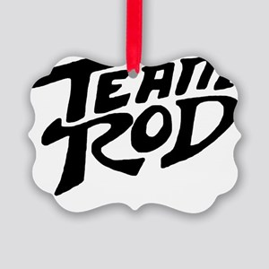 Team Rod Picture Ornament