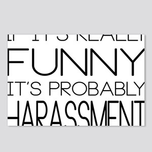 Harassment Postcards (Package of 8)