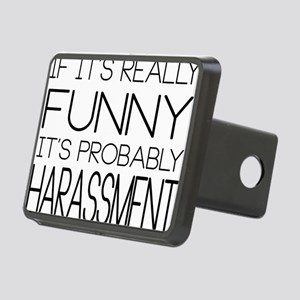 Harassment Rectangular Hitch Cover
