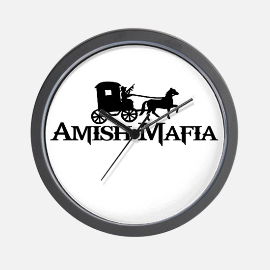 Amish Mafia Wall Clock