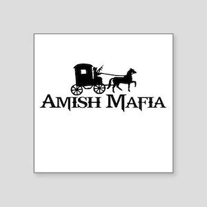"""Amish Mafia Square Sticker 3"""" x 3"""""""