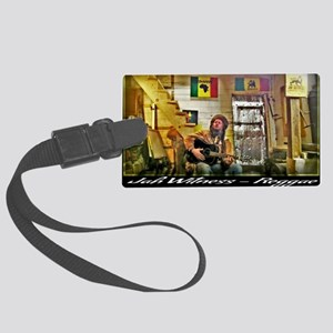 Jah Witness Reggae Large Luggage Tag