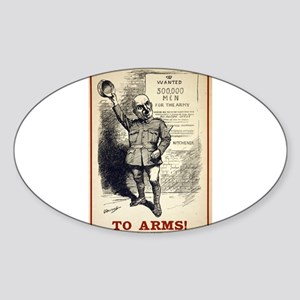 To Arms - L Raven-Hill - 1914 - Poster Sticker