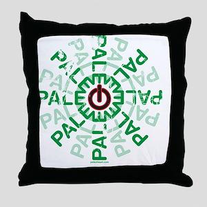 Paleo Power Wheel Throw Pillow