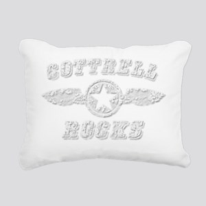 COTTRELL ROCKS Rectangular Canvas Pillow
