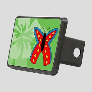 Butterfly Messenger Bag Rectangular Hitch Cover