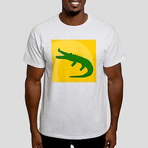 Alligator Mens Wallet Light T-Shirt