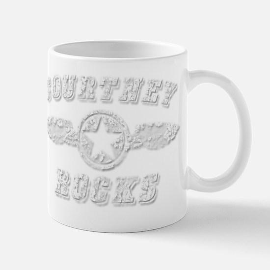 COURTNEY ROCKS Mug