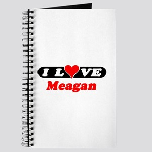 I Love Meagan Journal