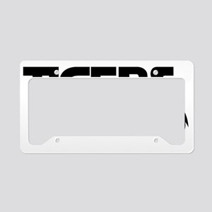 Tigers Rule License Plate Holder