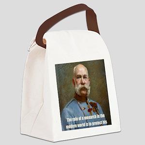 Franz Josef I Canvas Lunch Bag