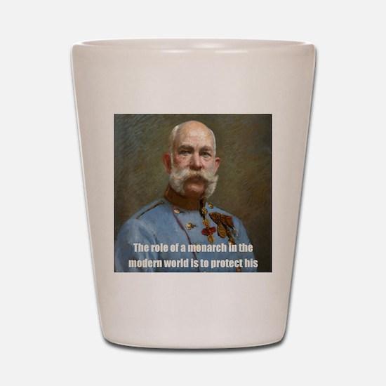 Franz Josef I Shot Glass