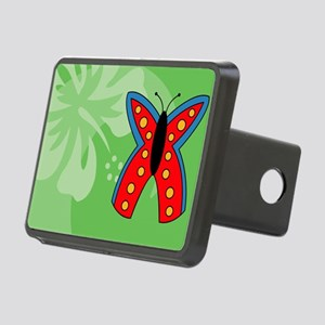 Butterfly Rectangle Car Ma Rectangular Hitch Cover