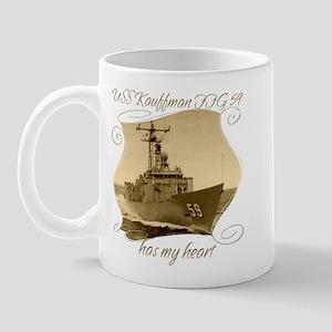 USS Kauffman FFG-59 Mugs