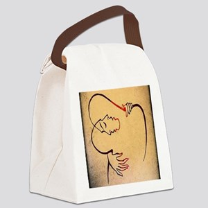 Lovers Canvas Lunch Bag