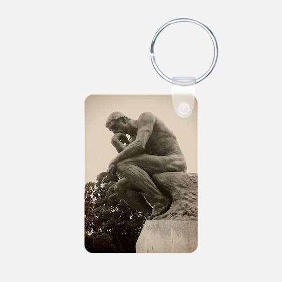 Rodins The Thinker Keychains
