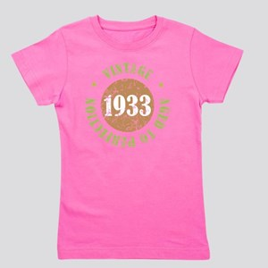 1933 Aged To Perfection Girl's Tee