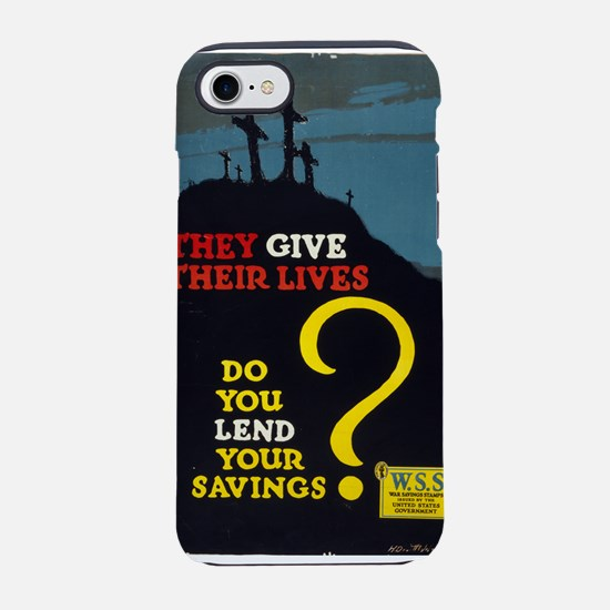 They Give Their Lives Do You Lend Your Savings - H