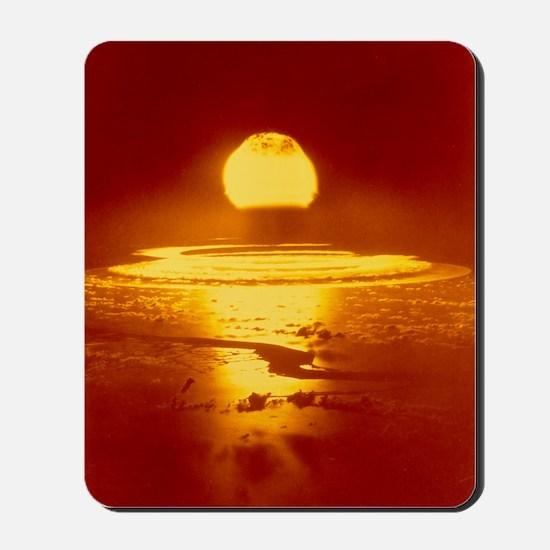 Bikini Atoll atomic bomb explosion 1946 Mousepad