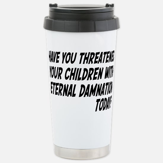 damnationrectangle Stainless Steel Travel Mug